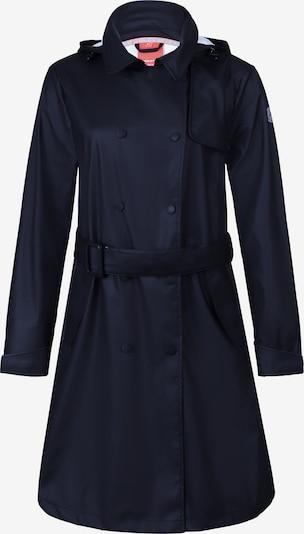 Dingy Rhythm Of The Rain Outdoormantel in de kleur Zwart, Productweergave