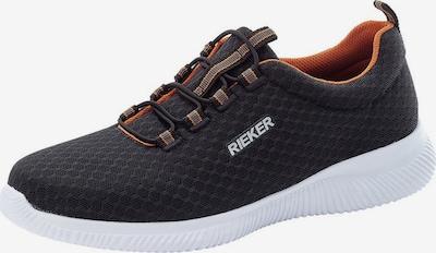 Sneaker low RIEKER pe gri / portocaliu / negru, Vizualizare produs
