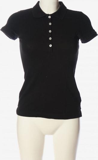 H&M Polo-Shirt in S in schwarz, Produktansicht