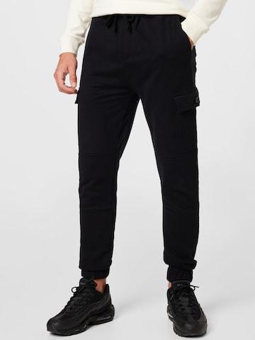 Key Largo Cargo Pants 'RESULT' in Black