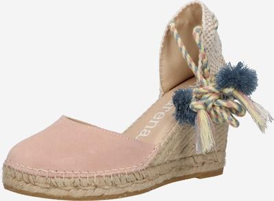 Sandale 'CARLA 69' MACARENA pe alb kitt / bej deschis / azuriu / galben deschis / roz, Vizualizare produs