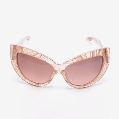 Linda Farrow Sonnenbrille in One Size in braun, Produktansicht