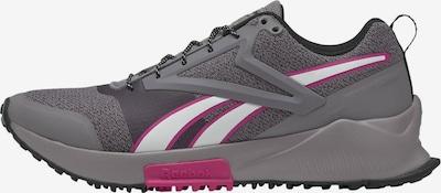 REEBOK Loopschoen in de kleur Grijs / Pink / Wit, Productweergave