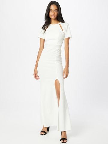 Rochie de seară de la WAL G. pe alb