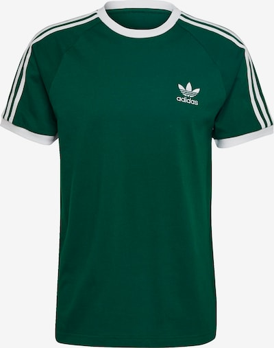 ADIDAS ORIGINALS T-Shirt in grasgrün / weiß, Produktansicht