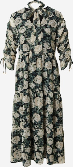 Freebird Skjortklänning i ljusgul / mörkgrön / svart, Produktvy