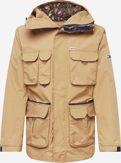 Tommy Jeans Starpsezonu jaka, krāsa - bēšs, Preces skats