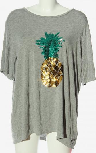 PUR Print-Shirt in 4XL in hellgrau, Produktansicht