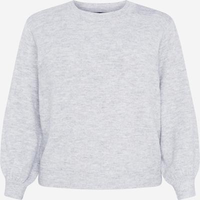 PIECES (Curve) Pullover 'PERLA' in hellgrau, Produktansicht