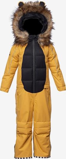WeeDo Schneeanzug 'Liodo Löwe' in braun / gelb / schwarz, Produktansicht