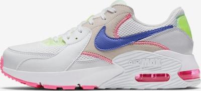 Nike Sportswear Sneaker 'Air Max Excee' in indigo / neongelb / pink / weiß, Produktansicht
