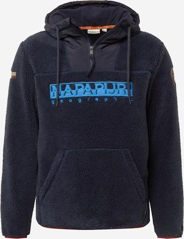 NAPAPIJRI Sweatshirt 'TEIDE 4' in Blue