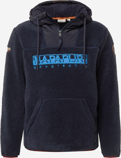 NAPAPIJRI Μπλούζα φούτερ 'TEIDE 4' σε μπλε / μπλε νύχτας, Άποψη προϊόντος
