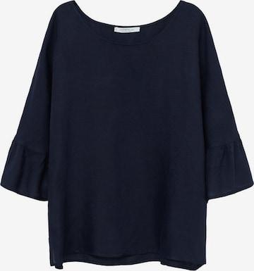 MANGO Bluse 'Cotili' in Blau
