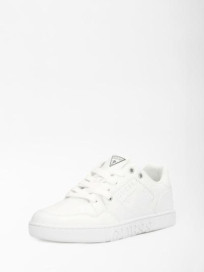GUESS Baskets basses 'Julien' en blanc, Vue avec produit