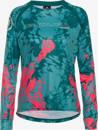 ENDURA Shirt in jade / pink, Produktansicht