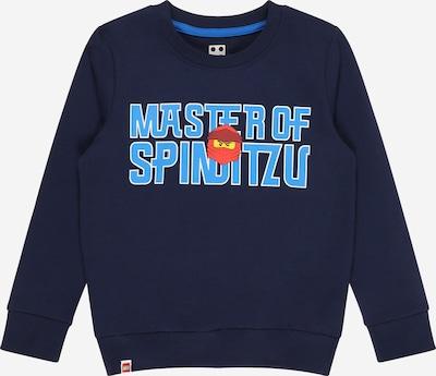 LEGO WEAR Sweatshirt 'M12010123' in Navy / Light blue / Red / White, Item view