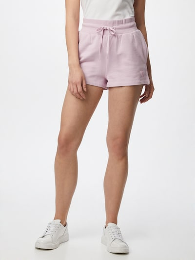 GUESS Shorts in lavendel, Modelansicht