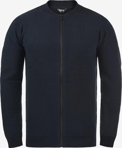 !Solid Gebreid vest 'Cezar' in de kleur Blauw, Productweergave