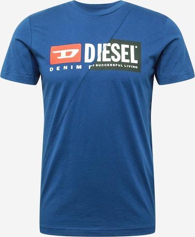 DIESEL Paita 'T-DIEGO-CUTY' värissä sininen / punainen / musta / valkoinen, Tuotenäkymä