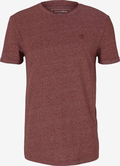 TOM TAILOR DENIM Shirt in dunkelrot, Produktansicht