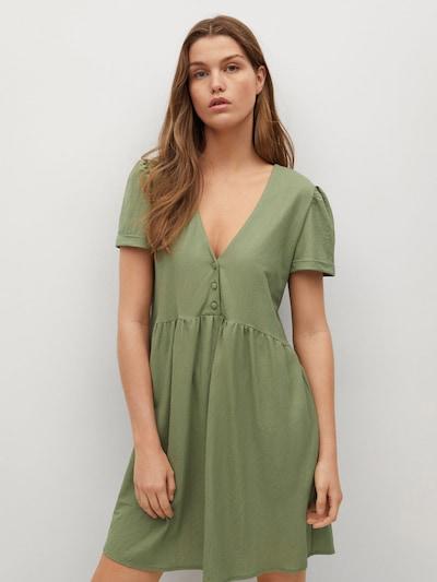olíva MANGO Nyári ruhák 'THALIA8', Modell nézet