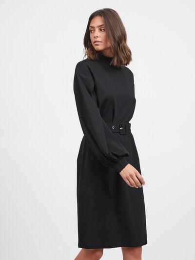 VILA Kleid 'Dana' in de kleur Zwart, Modelweergave
