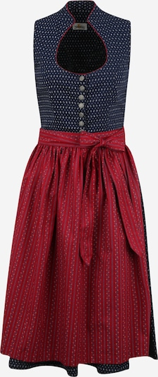 ALMSACH Dirndl in dark blue / red, Item view