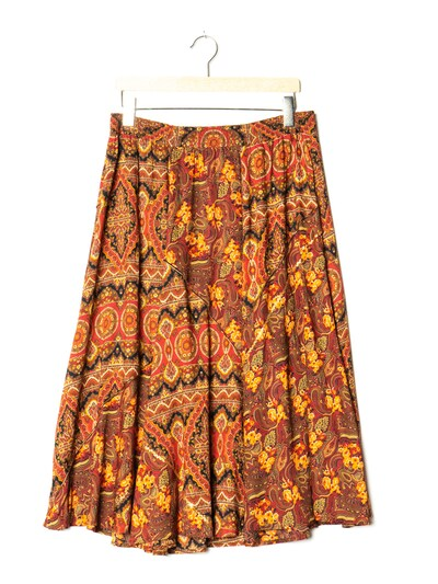 Carole Little Skirt in XL/33 in Brown, Item view