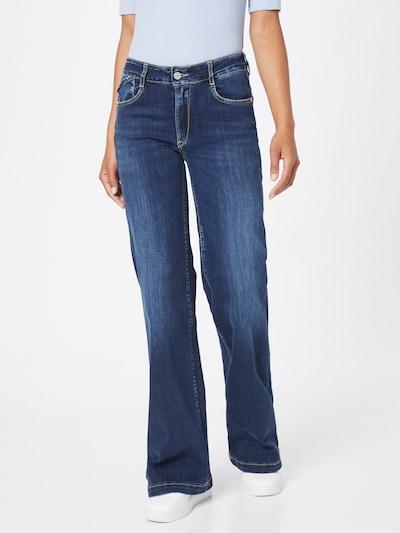 Le Temps Des Cerises Jeans in blue denim, Modelansicht