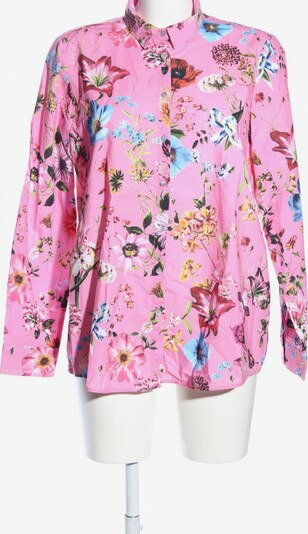 Smith&Soul Langarmhemd in M in pastellgelb / khaki / pink, Produktansicht
