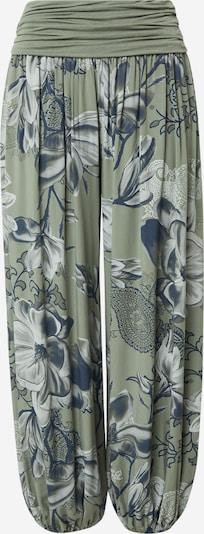 Pantaloni modello harem 'Jasmin' Hailys di colore blu scuro / cachi / bianco, Visualizzazione prodotti