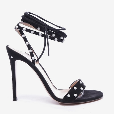 Gianvito Rossi Sandals & High-Heeled Sandals in 37 in Black / White, Item view