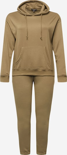 Missguided Plus Joggingpak in de kleur Kaki, Productweergave