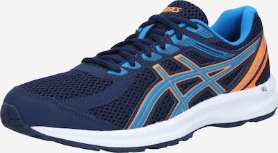 Bėgimo batai 'GEL-BRAID' iš ASICS , spalva - tamsiai mėlyna jūros spalva / šviesiai mėlyna / oranžinė, Prekių apžvalga