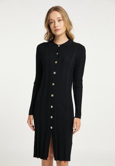 DreiMaster Klassik Kleid in schwarz, Modelansicht