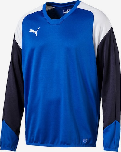 PUMA Athletic Sweatshirt in Royal blue / Anthracite / White, Item view