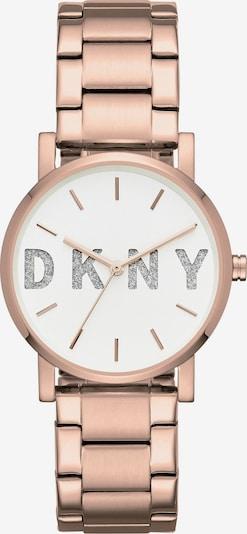 DKNY Uhr in rosegold / schwarzmeliert / weiß, Produktansicht