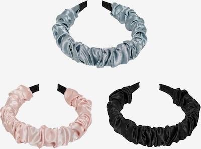 ONLY Haarband 'Marie' in opal / pastellpink / schwarz, Produktansicht