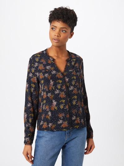 VILA Bluse 'Borine' in gelb / orange / schwarz, Modelansicht