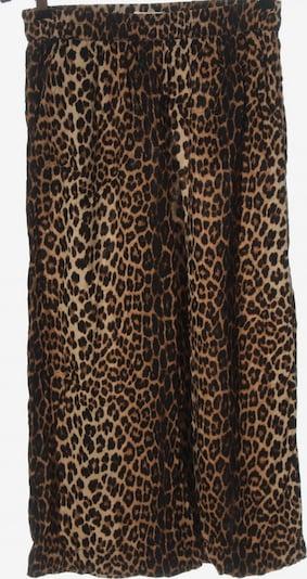 H&M Culottes in XXS in nude / schwarz, Produktansicht