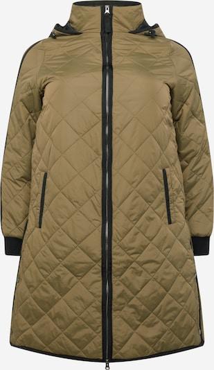 Palton de primăvară-toamnă 'CAFILU' Zizzi pe kaki, Vizualizare produs