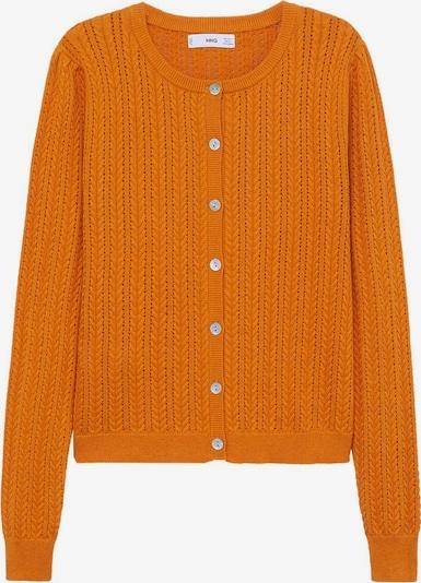 MANGO Strickjacke in orange, Produktansicht