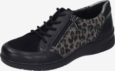 Comfortabel Schuh in grau / schwarz, Produktansicht