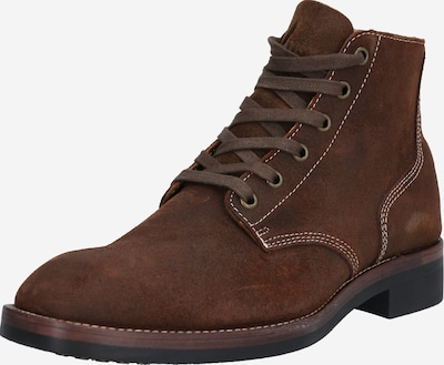 Superdry Lace-up boots 'Officer' in sepia, Item view