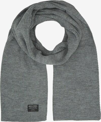 JACK & JONES Schal 'DNA' in graumeliert / schwarz / weiß, Produktansicht