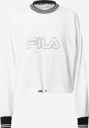 FILA Sportsweatshirt 'JALINA' i lys rød / sort / hvid, Produktvisning