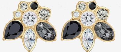 ELLI PREMIUM Ohrringe 'Kristall' in gold / schwarz / silber, Produktansicht