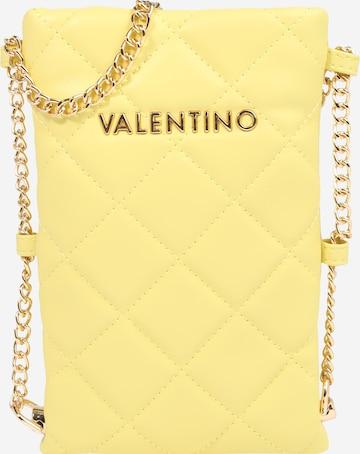 Custodia per smartphone 'Ocarina' di Valentino Bags in giallo