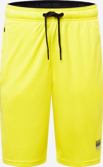 Superdry Sportbroek in de kleur Lichtgeel / Grijs / Zwart, Productweergave